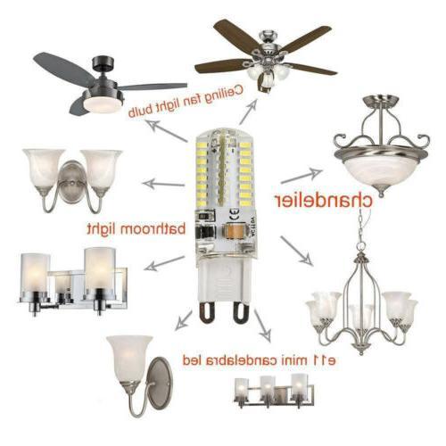 10 Pack LED Warm/Daylight Bulb AC