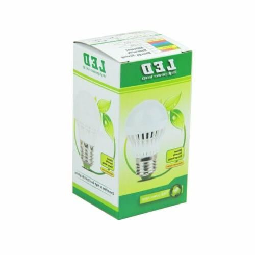 10 Pack 5W 7W LED 6500K Daylight White E26/27 Lamp Light