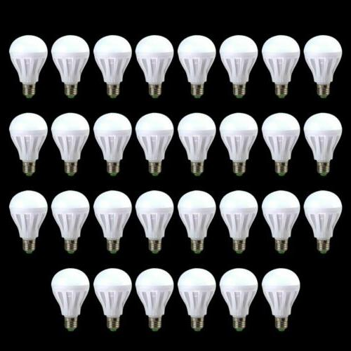 10 Pack LED Bulbs 3W 5W 12W 6500K Daylight White