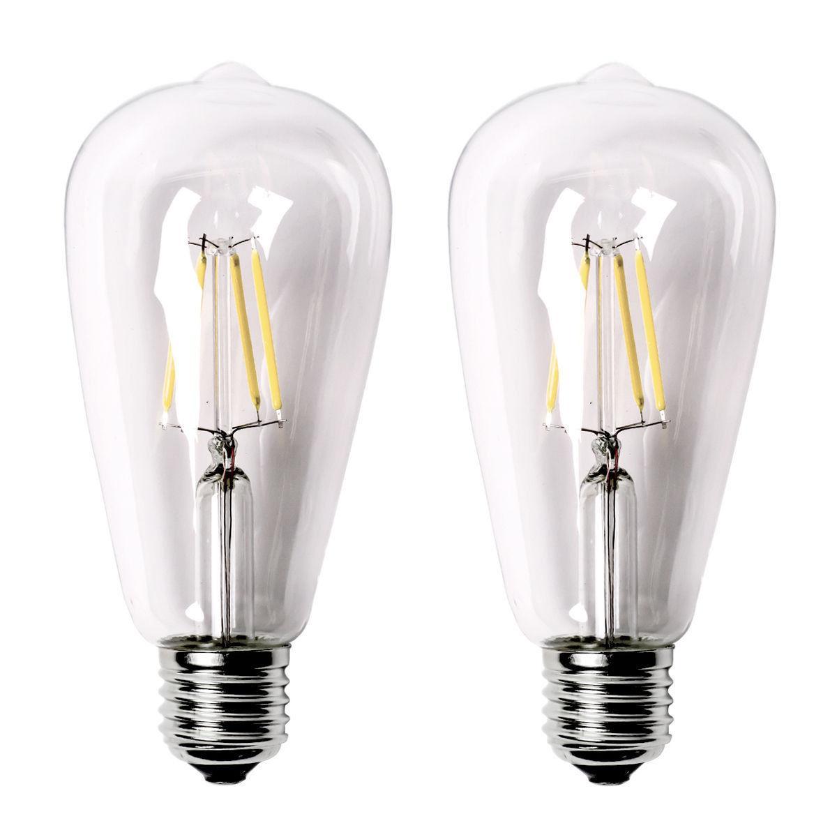 E27 6W Screw Light Lamp