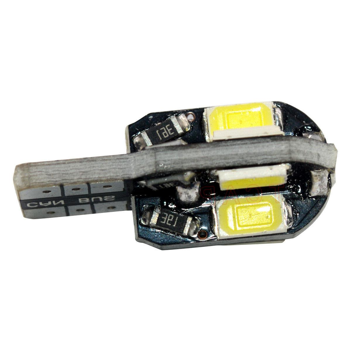 10PCS Canbus T10 168 5730 LED Side