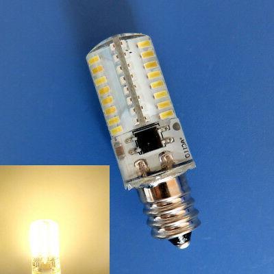 10pcs E12 Light C7 64LED 3014SMD Warm 110V