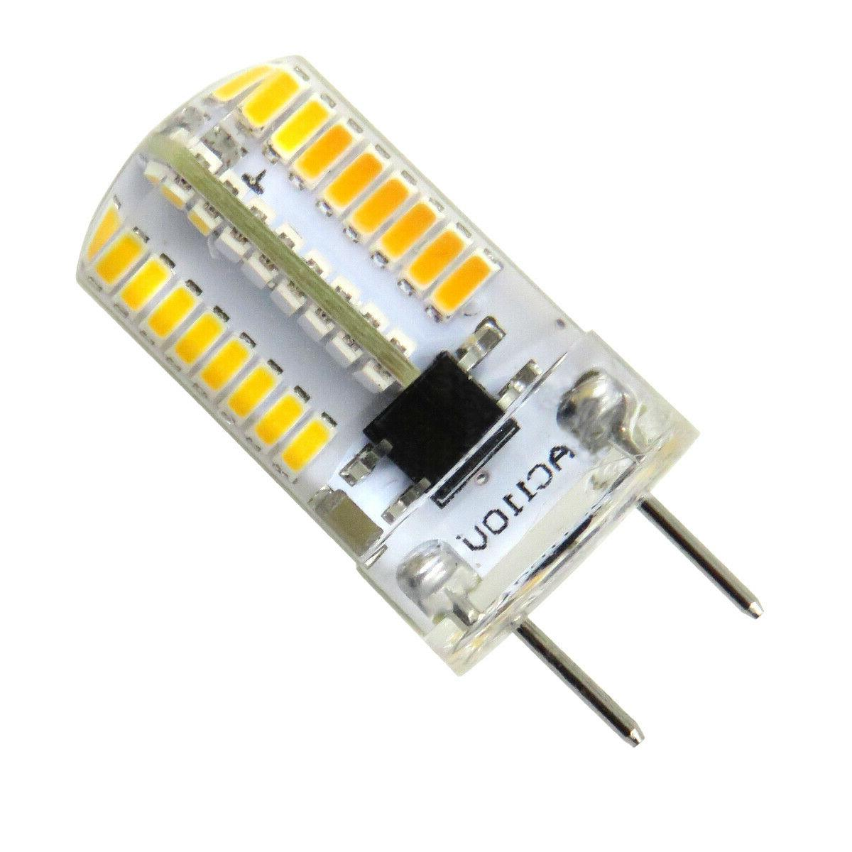 10pcs Bi-Pin T5 Lights Light Dimmable White/Warm 120V