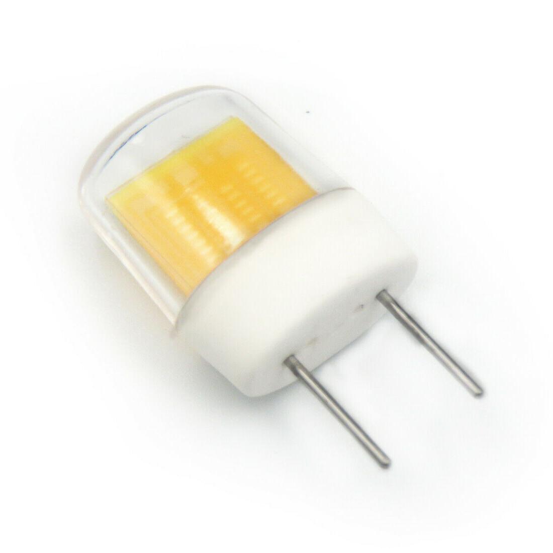 10pcs G8 Bulb Flat COB Ceramics 3W Warm