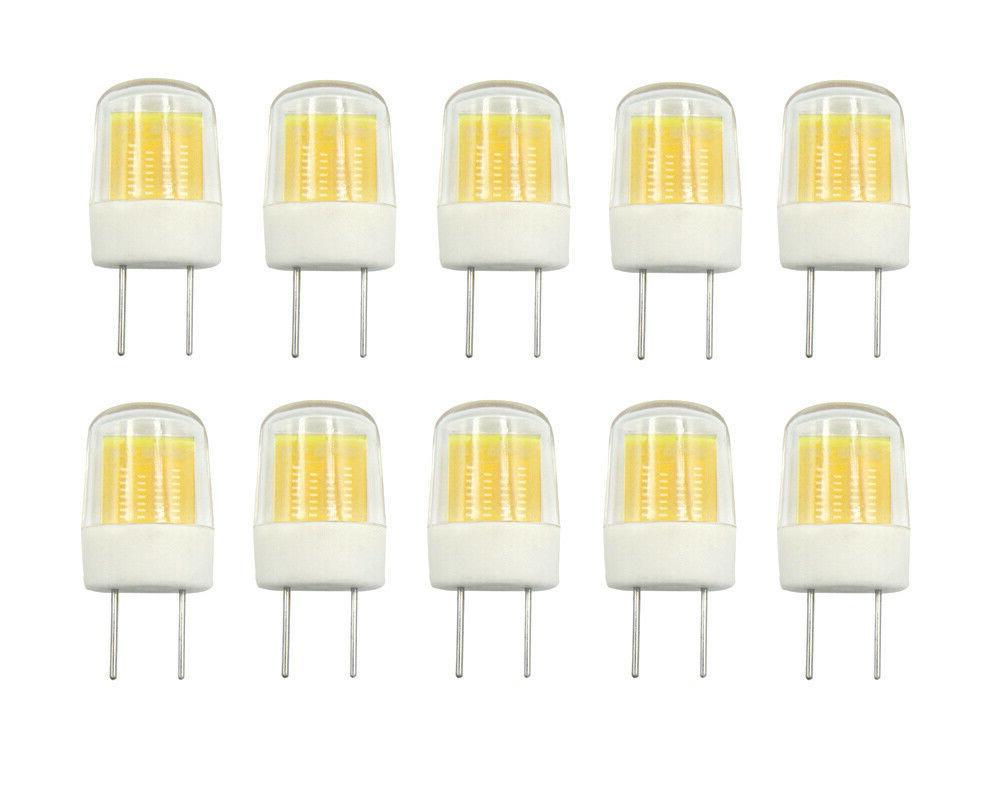 10pcs g8 g8 5 led bulb flat