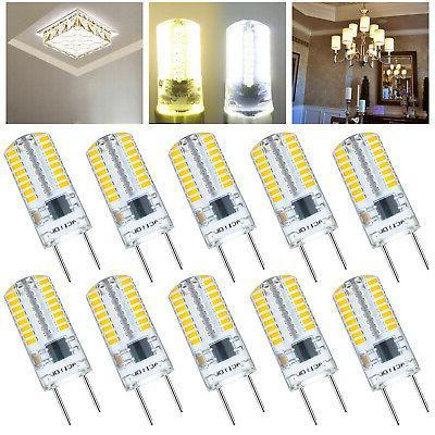 10pcs g8 led light bulb lamp t5