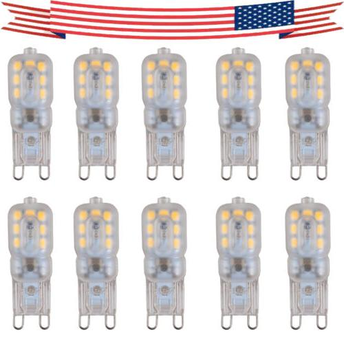 10pcs g9 5w led dimmable capsule bulb