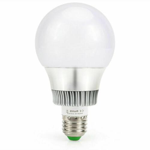 10W RGB LED Light Multi Changing Memory Lamp+Remote