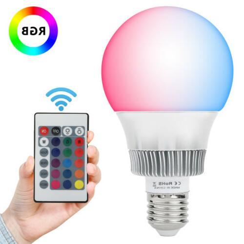 10W E26 LED Light Color Control