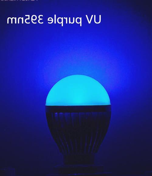 NEW 3W 395-400nm LED Light Bulb