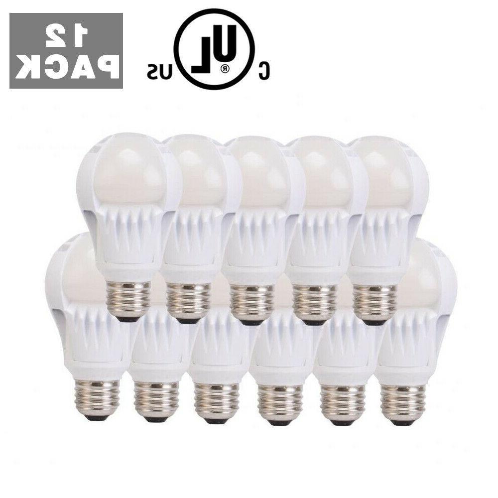 12 Pack 60 Watt Equivalent Daylight White High 5000K LED Lig