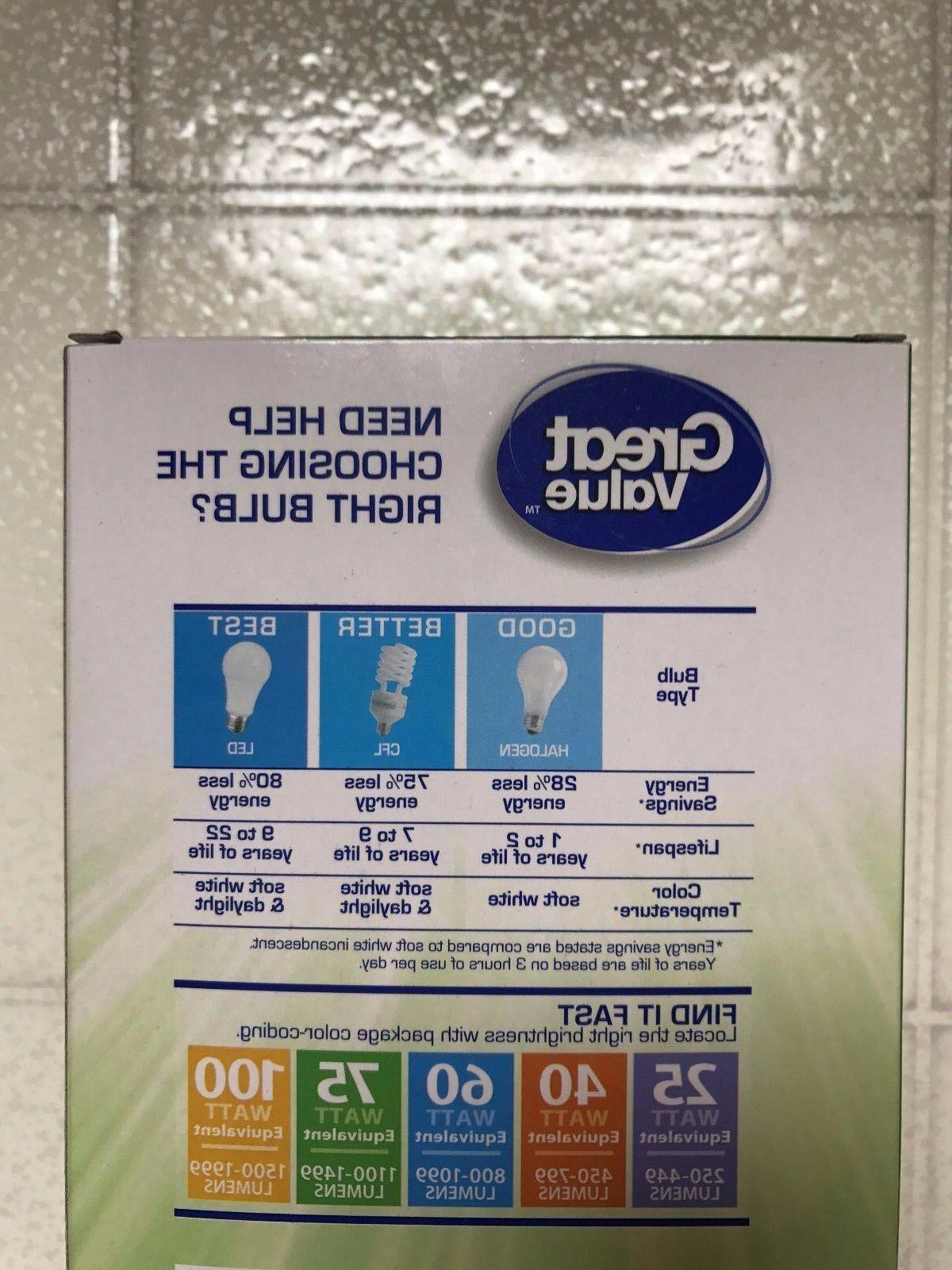 12 40W = 6W Soft White 40 2700K E26 light bulb