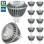 12 Pack Sunlite LED MR16 7W, 12 Volt, GU5.3 Base Bulb, 2700K