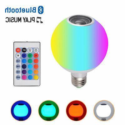 LED Bluetooth Lamp+Remote