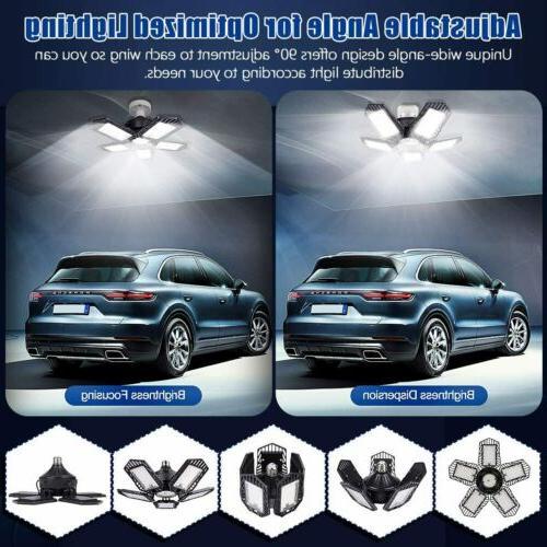 150W 15000lm LED Garage E27 Bulb Ceiling Fixture