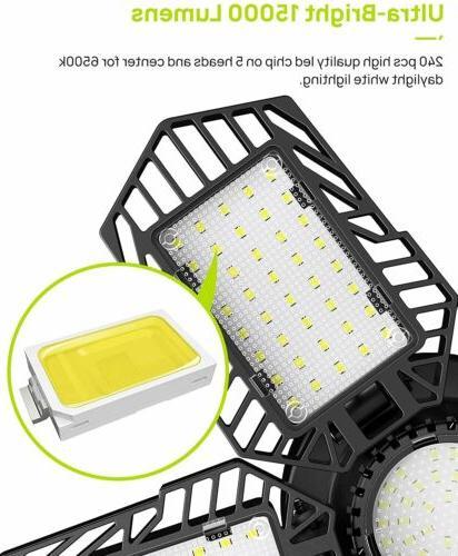 150W 15000lm Garage Lights Ceiling