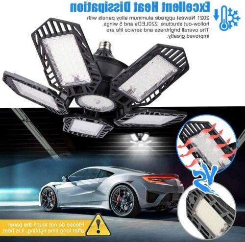150W 15000lm Garage Bulb Ceiling Fixture Workshop