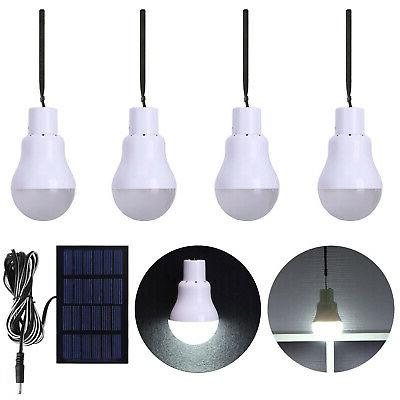 15w rechargeable solar panel powered led bulb