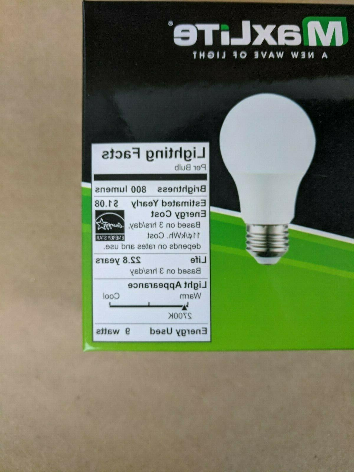 16 pack Bulbs Equivalent A19 White Lot
