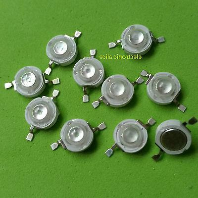 1W High Power Yellow UV LED Bulb 10 pcs
