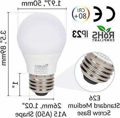 5W 120V 40W Bulbs E26 5000K Daylight