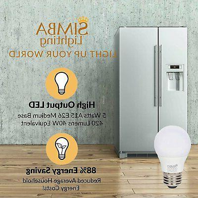 5W 120V Equivalent Bulbs