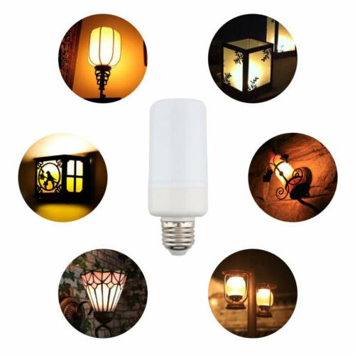4-PACK LED Effect Fire Bulb E27 Flickering Lamp