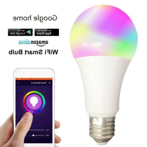 2*Wifi Smart Multi-Color Light Alexa/Google