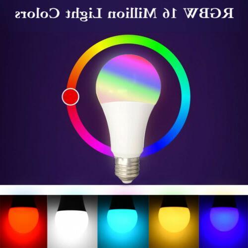 2*Wifi Smart Multi-Color Light For Alexa/Google Home App Control