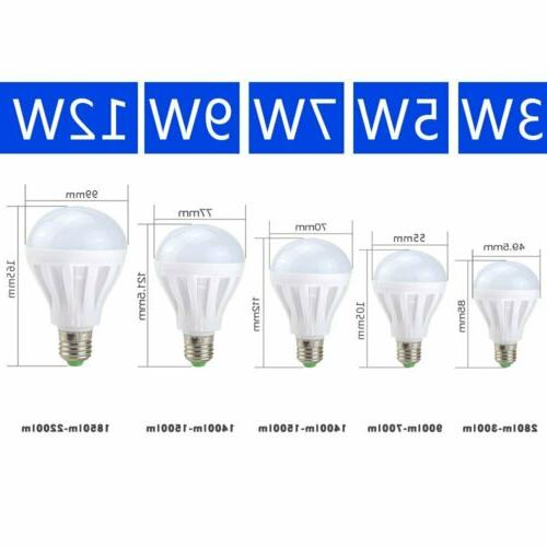 10 pack led bulbs 3w 5w 7w