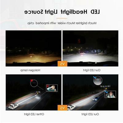 H3 CREE Light Bulbs Kit Super Bright White 100W