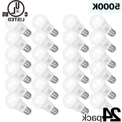 24 pack 9w a19 led light bulb