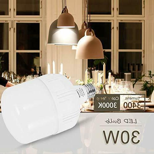 LOHAS Equivalent LED Bulb, Bulb 30Watt Retro