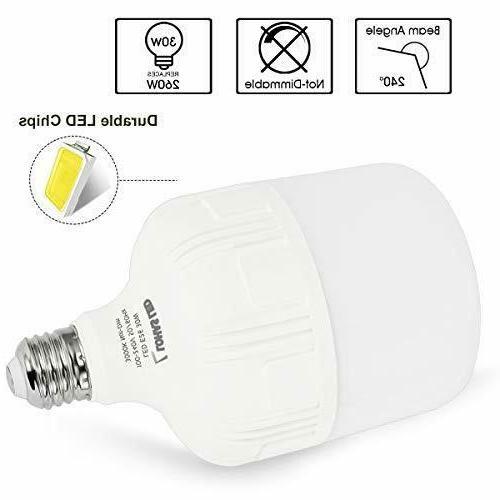 LOHAS 250W-300W Bulb, Daylight Bulb 30Watt