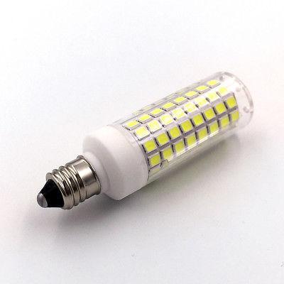 2pcs E11 LED 102Led 110V Light Warm White