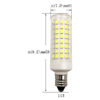 2pcs LED bulb 102Led Ceramics Lamp 9W 110V Ceiling Fans Warm White H