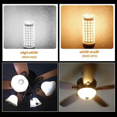 2pcs Light Bulb 9W Dimmable 102 Ceiling Fan Lamp