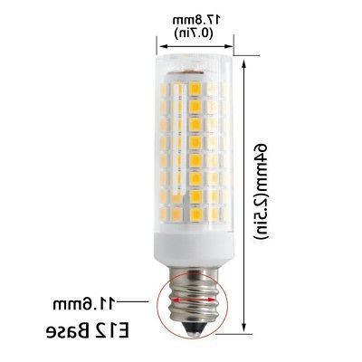 2pcs LED Ceramics Light 110V Daylight