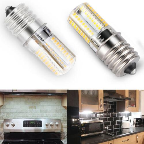 2x E17 LED Bulb Microwave Oven Light Dimmable Natural White