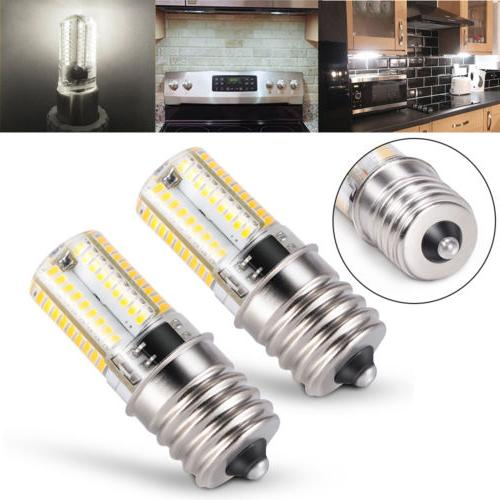 2x E17 LED Bulb Microwave Ceiling Stove Dimmable Natural Whi