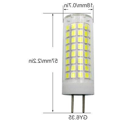 2pcs GY6.35 G6.35 Bulb 9W 102-2835 Ceramics H