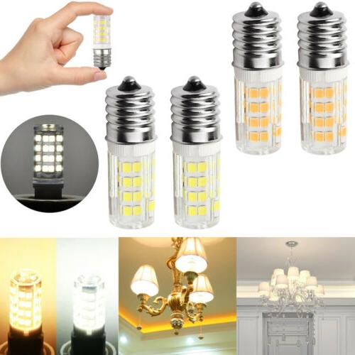 Pair Microwave LED Replacement Light Bulb for Appliance E17