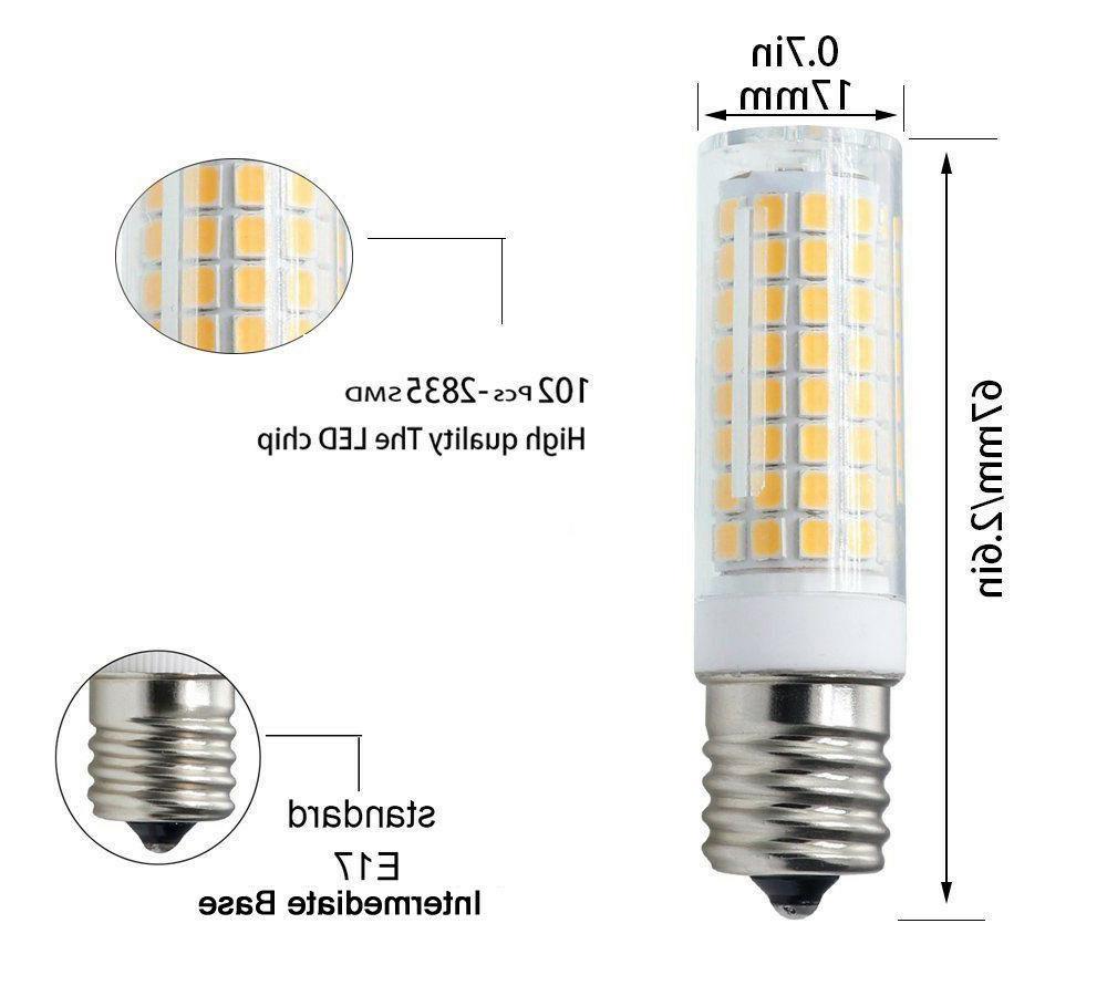 2x bulb White Ceramics Light Lamp for Microwave