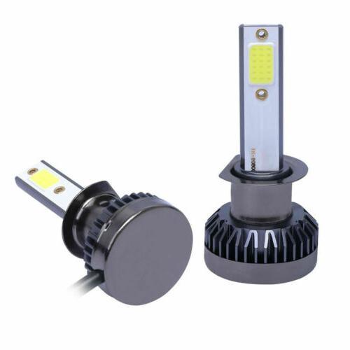 2x LED Headlight High Low Beams Lamp 6000K 260000LM 1200W