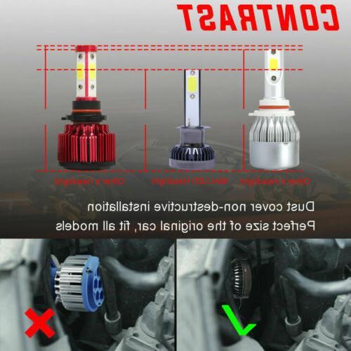 2x COB LED Low Lamp 6000K 260000LM
