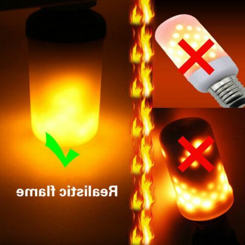 3 Effect Nature Fire Bulbs Decor E27