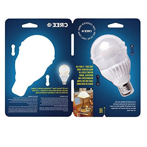 Cree Equivalent Soft White A21 3-Way LED Light