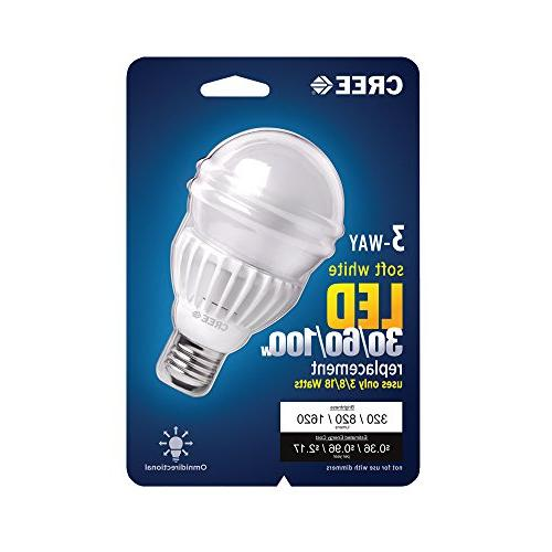 Cree 30/60/100W White A21 Light Bulb