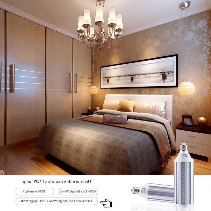300 LED Light Bulb E26/E27 Base for Basement