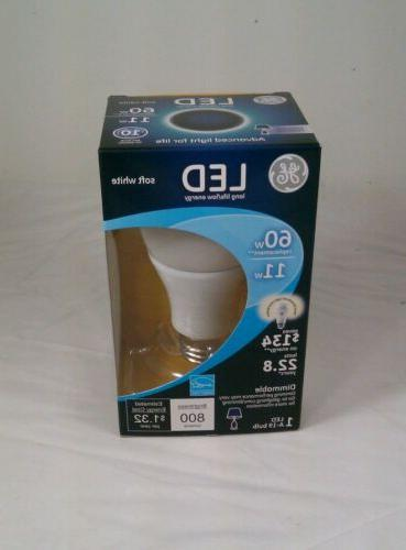 GE Lighting 33846 A19 A-Line Medium Base LED Light Bulb, 11